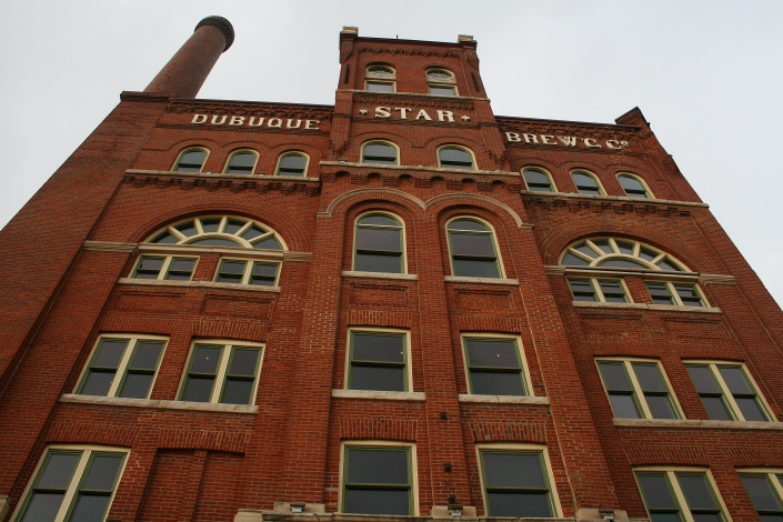 Brick Building Dubuque