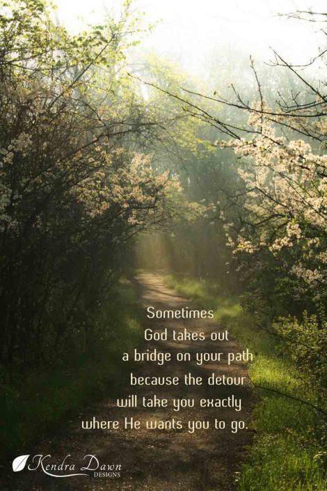 God's Detours