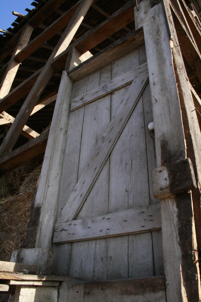 Barn Door Old Dilapidated Minnesota