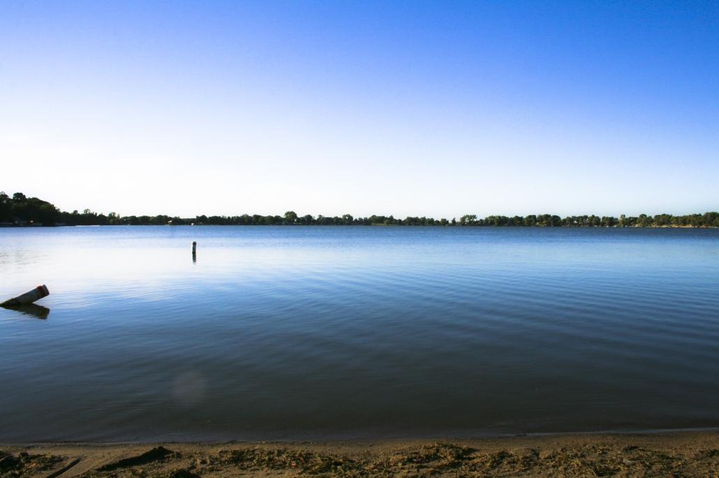 Lake Minnesota Summer Waterline Beach