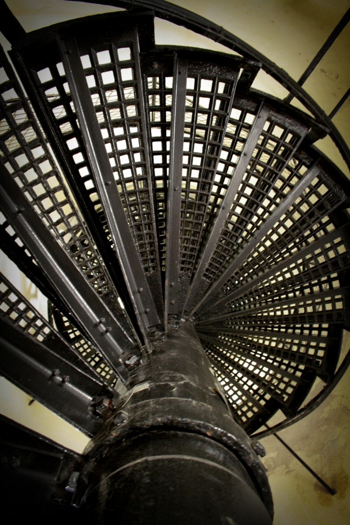 Winding Staircase Lighthouse South Padre SPI Steps